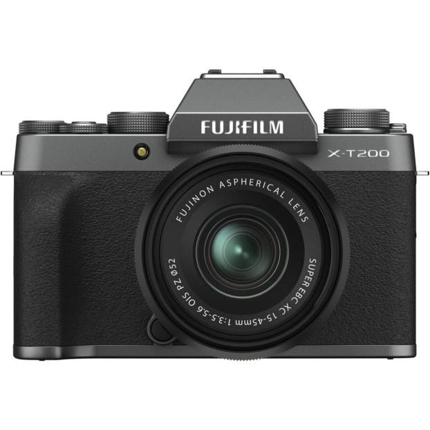 Fujifilm X-T200 dark silver + 15-45mm f/3.5-5.6 OIS PZ