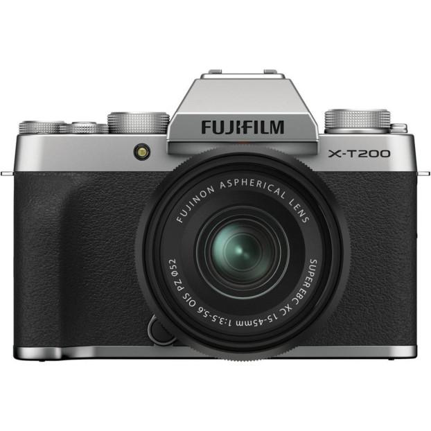 Fujifilm X-T200 zilver + 15-45mm f/3.5-5.6 OIS PZ