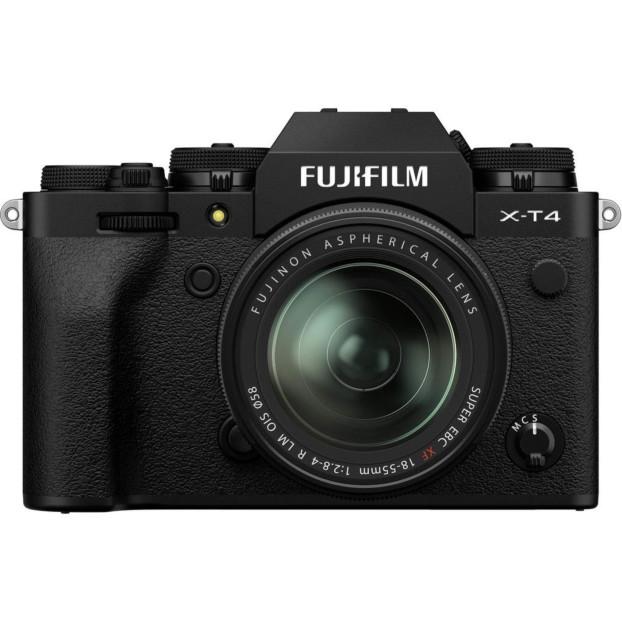 Fujifilm X-T4 zwart + 18-55mm f/2.8-4.0 R LM OIS