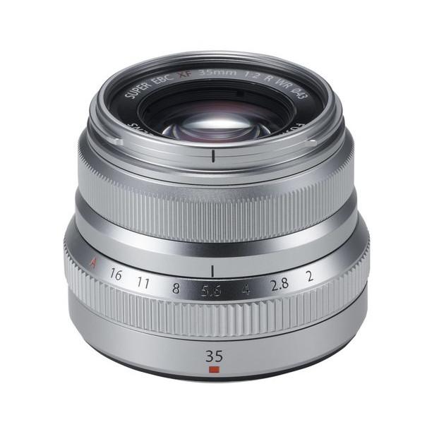 Fujifilm Fujinon XF 35mm f/2.0 R WR zilver