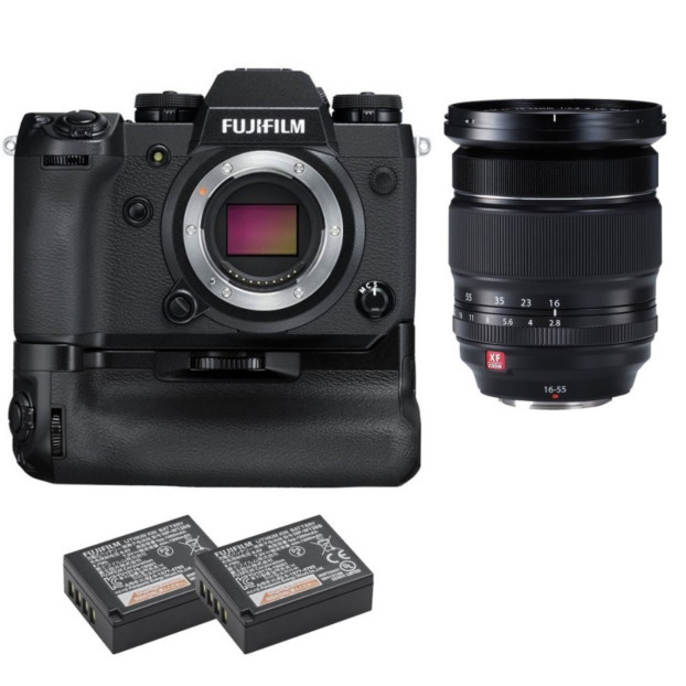Fujifilm X-H1 Body + 16-55mm f/2.8 + VPB-XH1 + 2x NP-W126S