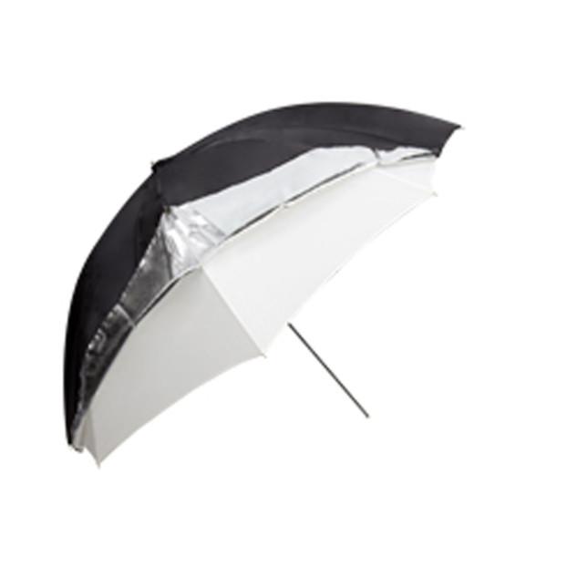 Godox Flitsparaplu 101cm, zwart/zilver/doorschijnend
