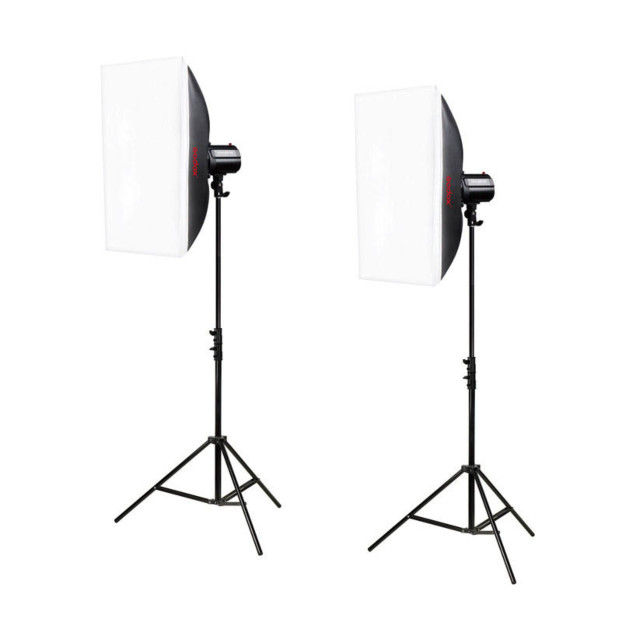Godox Mini Pioneer 250 Watt Softbox Studioflitsset