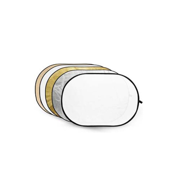 Godox Reflectiescherm 5 in 1 Gold, Silver, Soft Gold, White, Translucent 60x90cm