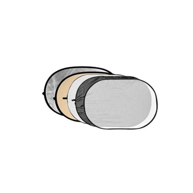Godox Reflectiescherm 5 in 1 Soft Gold, Silver, Black, White, Translucent 150X200cm
