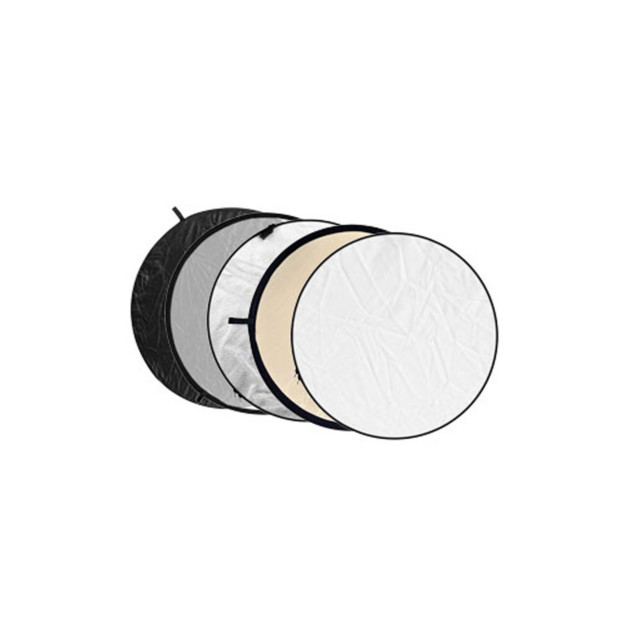Godox Reflectiescherm 5 in 1 Soft Gold, Silver, Black, White, Translucent 80cm