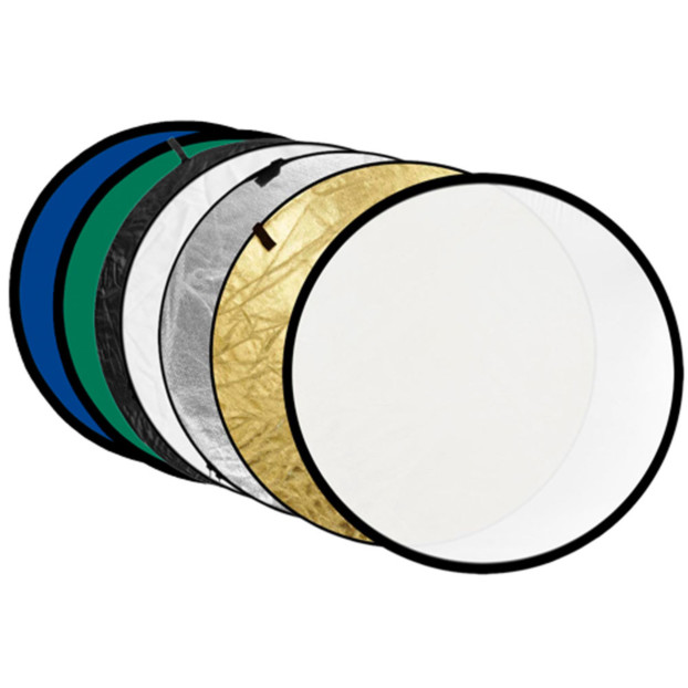 Godox Reflectiescherm 7 in 1 Gold, Silver, Black, White, Translucent, Blue & Green 80cm