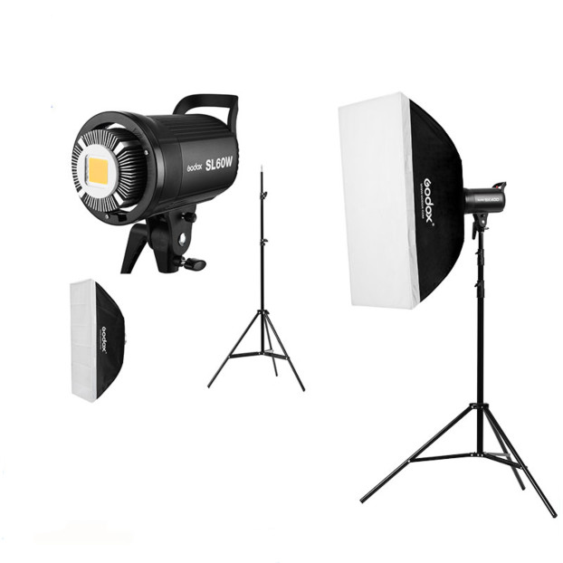 Godox SL60W LED videolamp Trio Kit