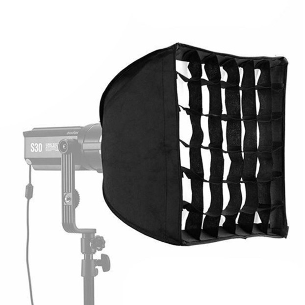 Godox Softbox + Grid, 30x30cm