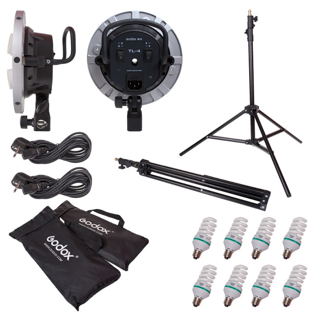 Godox TL 4 Holder Tricolor Light Kit
