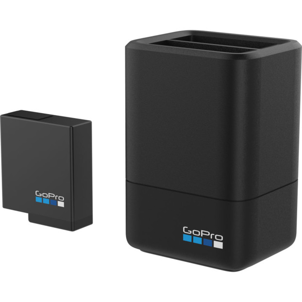 GoPro Dual Charger+Battery(HERO/5/6 Blk)