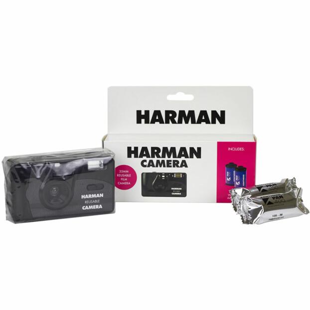 Harman Reusable Analoge Camera + 2 Kentmere Pan 400 films
