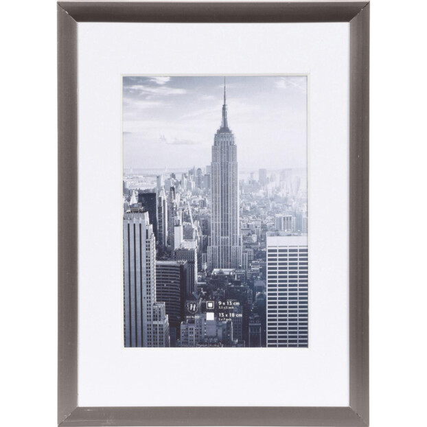 Henzo Manhattan 13x18 (9x13) | Donkergrijs