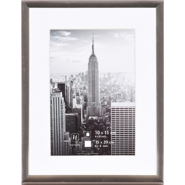 Henzo Manhattan 15x20 (10x15) | Donkergrijs