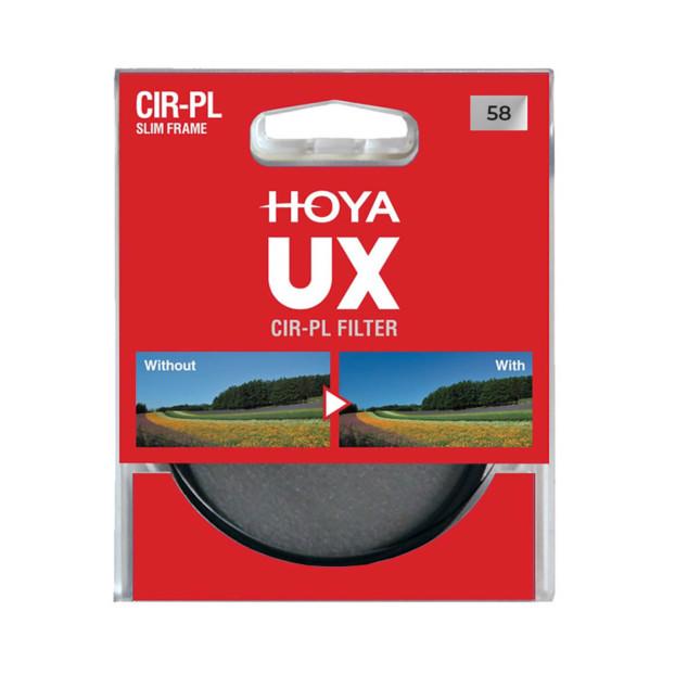 Hoya 58mm UX Circulair Polarisatiefilter