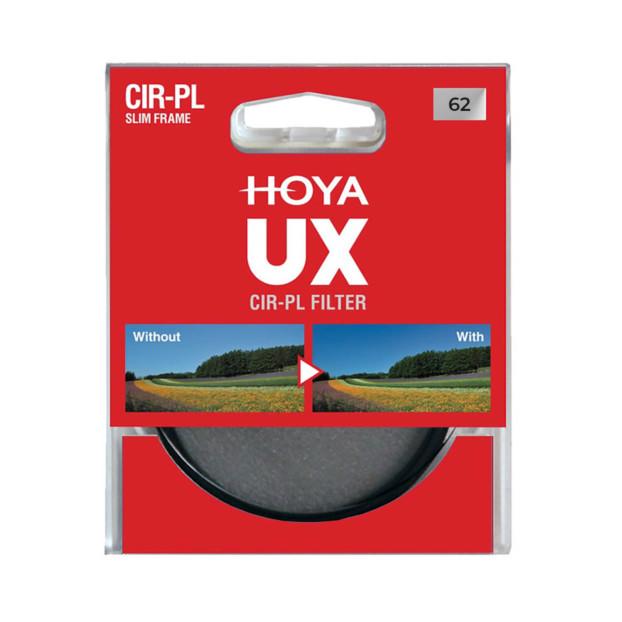 Hoya 62mm UX Circulair Polarisatiefilter