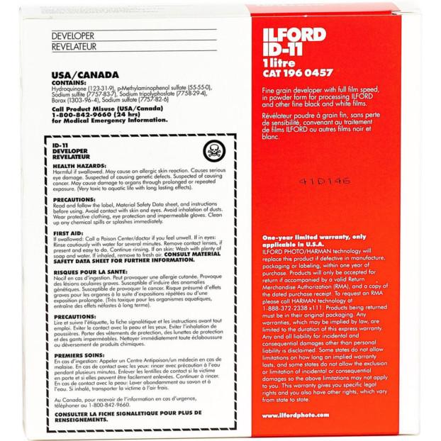Ilford/Harman ID 11 zwart-wit ontwikkelaar 1 L
