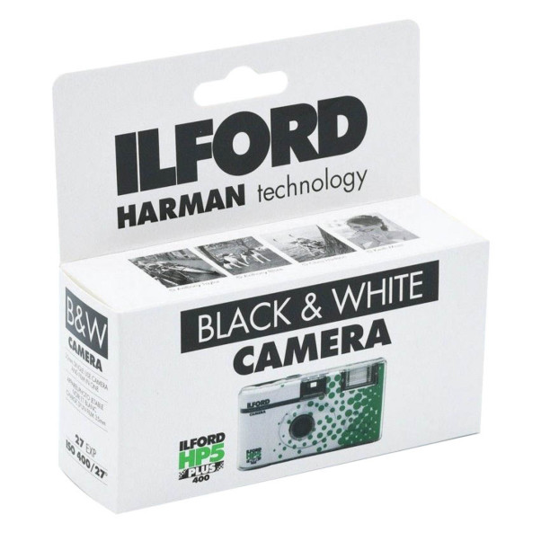 Ilford Black & White Wegwerpcamera HP5 27 opnames