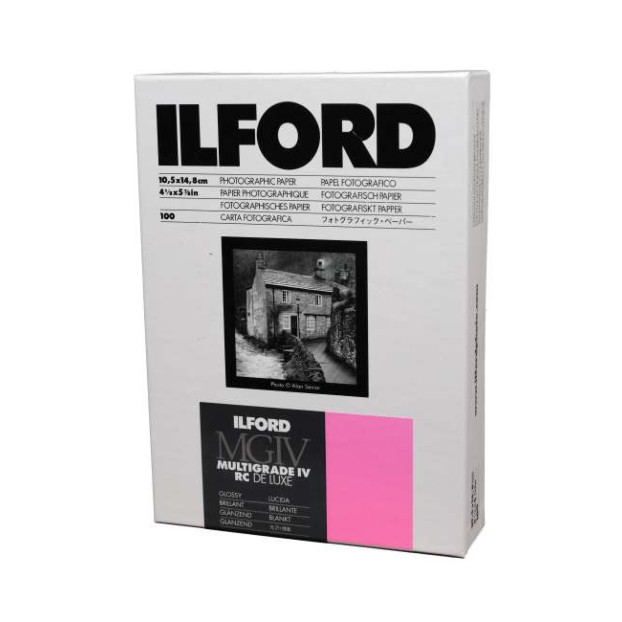 Ilford/Harman Multigrade Glossy 10.5 x 14.8 cm 100 vel