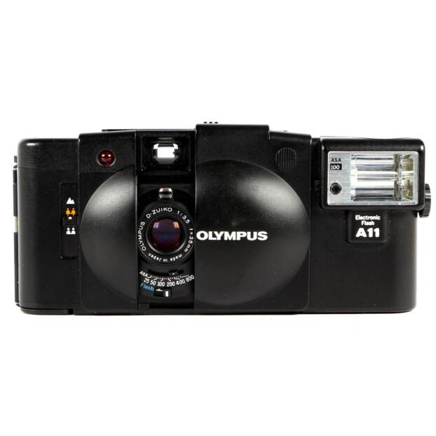 Olympus XA2 + A11 Flash Occasion 6448