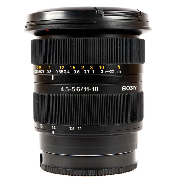 Sony SAL 11-18mm F4.5-5.6 DT voor A-mount Occasion 9526