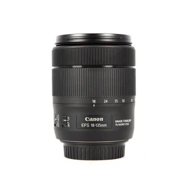 Canon EF-S 18-135mm f3.5-5.6 IS USM Occasion 9507