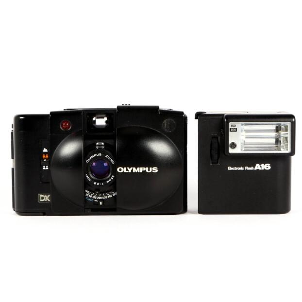 Olympus XA3 + A16 Flash Occasion 9604