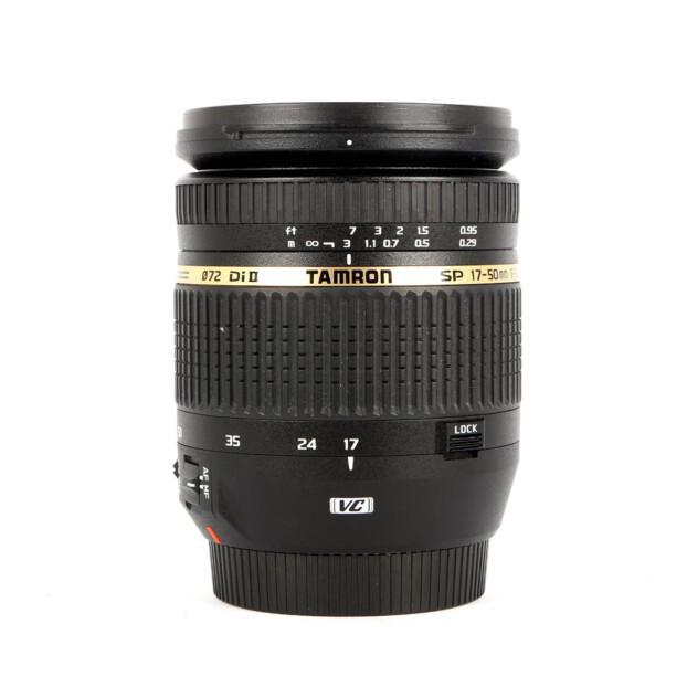 Tamron SP 17-50mm F2.8 Di II VC Canon Occasion 9607
