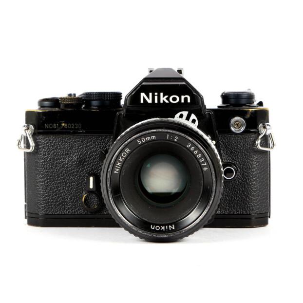 Nikon FM + 50mm F/2.0 Occasion 9612