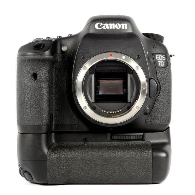 Canon EOS 7D + BG-E7 Batterygrip Occasion 9617