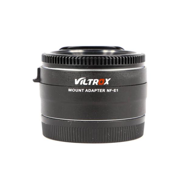 Viltrox NF-E1 Autofocus Nikon F naar Sony FE Adapter  Occasion 9651