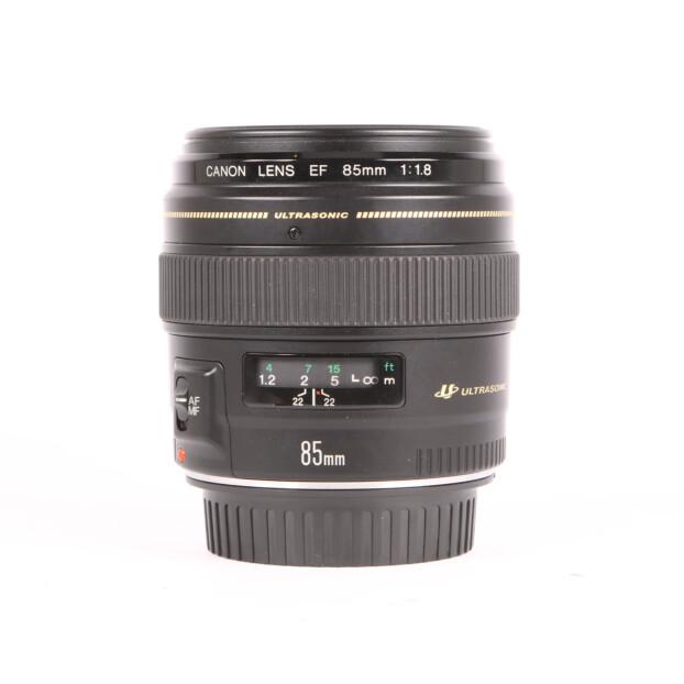 Canon EF 85mm f1.8 USM Occasion 9627