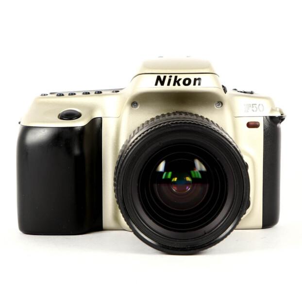 Nikon F50 Zilver + 28-80mm F/3.5-5.6 Occasion 9712