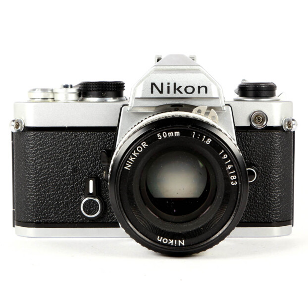 Nikon FM + 50mm F1.8 Occasion 9655
