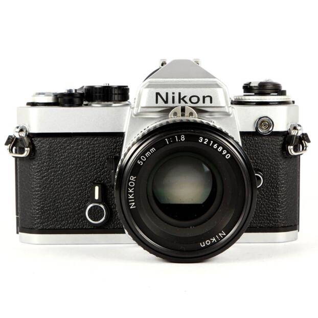 Nikon FE + 50mm F/1.8 Occasion 9657
