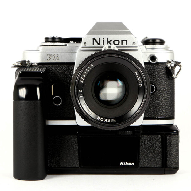 Nikon FG + 50mm F2 + Motordrive Occasion 9660