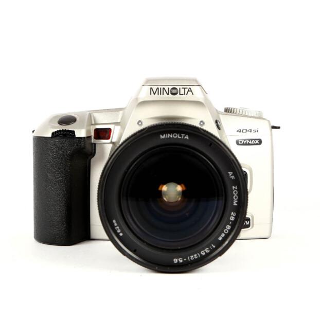 Minolta Dynax 404si + 28-80mm Occasion 9669