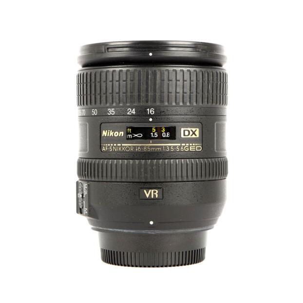 Nikon AF-S 16-85mm F3.5-5.6G ED VR DX Occasion 6456