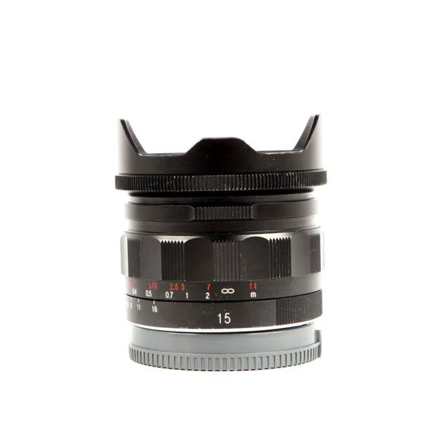 Voigtlander 15mm F/4.5 Super Wide Heliar III Sony FE Occasion 6467