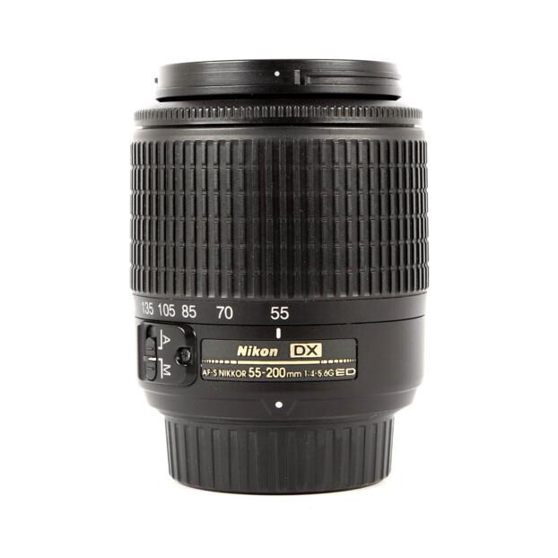 Nikon AF-S 55-200mm F4-5.6G ED DX Occasion 9791