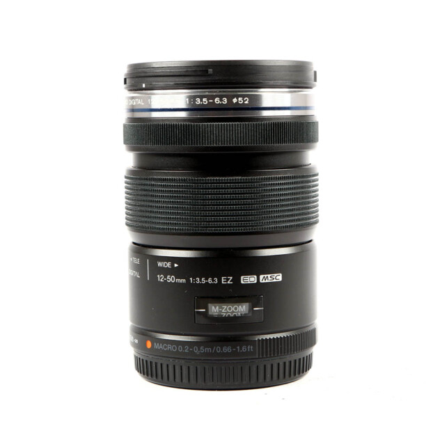 Olympus MFT M.Zuiko Digital ED 12-50mm f/3.5-5.6 EZ Occasion 9977