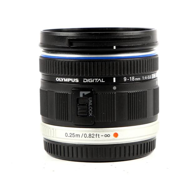 Olympus MFT M.Zuiko Digital 9-18mm f/4-5.6 ED Occasion 9981