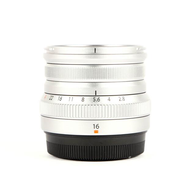 Fujifilm Fujinon XF 16mm F/2.8 R WR Zilver Occasion 6479