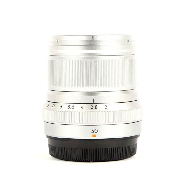 Fujifilm Fujinon XF 50mm F/2 R WR Zilver Occasion 6478