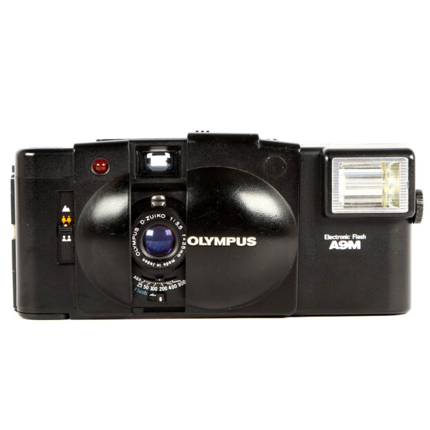Olympus XA2 + A9M Flash Occasion 6485