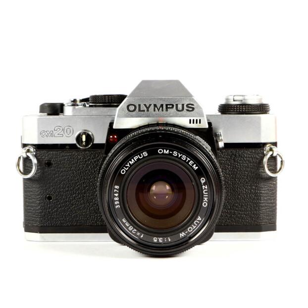 Olympus OM-20 + 28mm f3.5 Occasion 6501