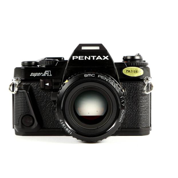 Pentax Super-A + 50mm F1.7 Occasion 6506