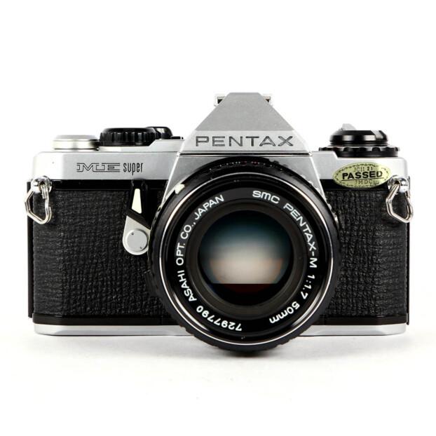 Pentax ME Super + 50mm F1.7 Occasion 9721
