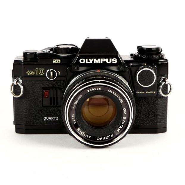 Olympus OM-10 Quartz + 50mm F/1.8 + Manual adapter