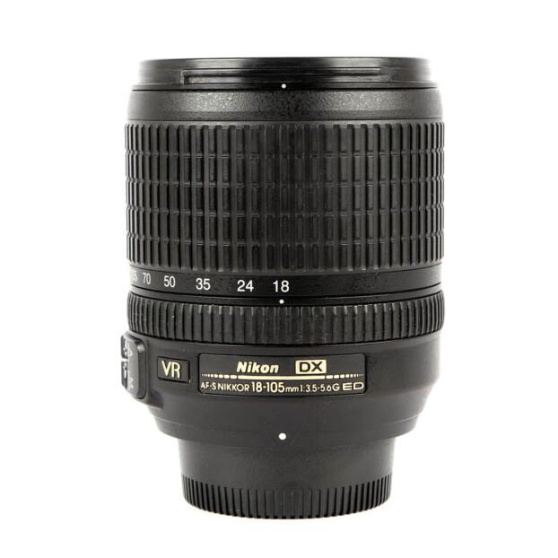 Nikon AF-S DX Nikkor 18-105mm F/3.5-5.6G ED VR Occasion 9816